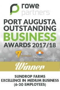 Port Augusta Outstanding Business Winner 2017/18
